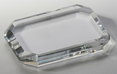 Crystal Oblong Paperweight